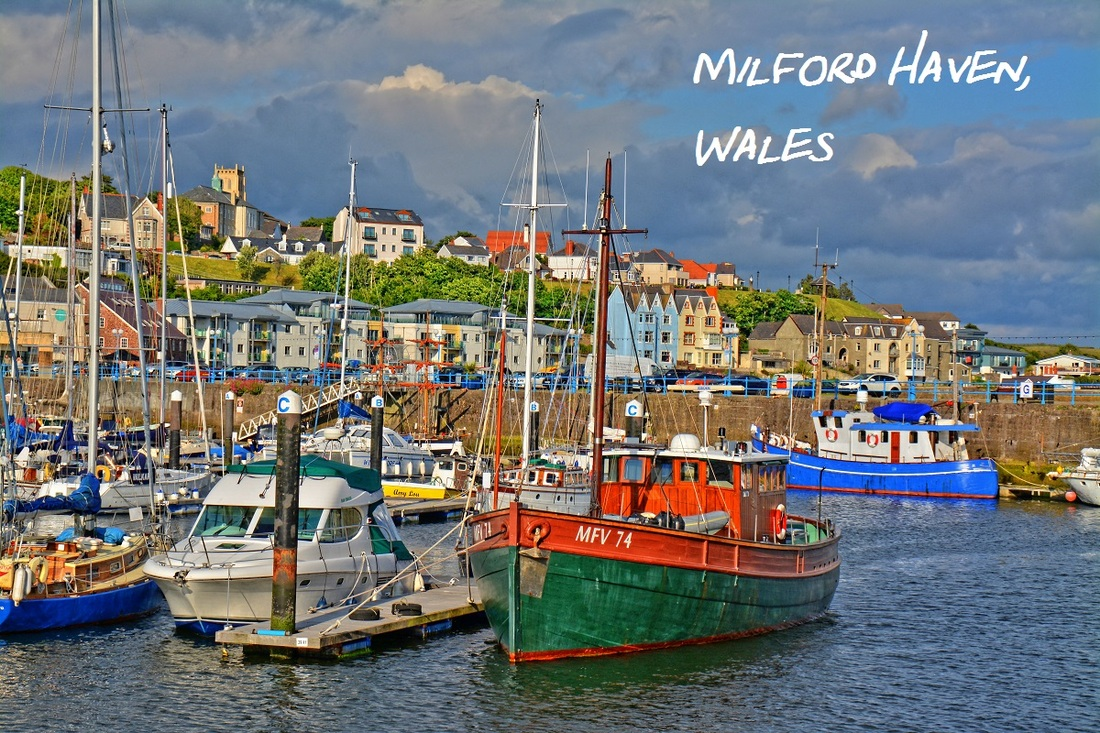 Milford Haven, Wales, Harbour, town